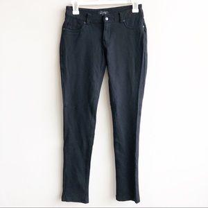 La Bisou | Stretch Black Skinny Pants With Pockets